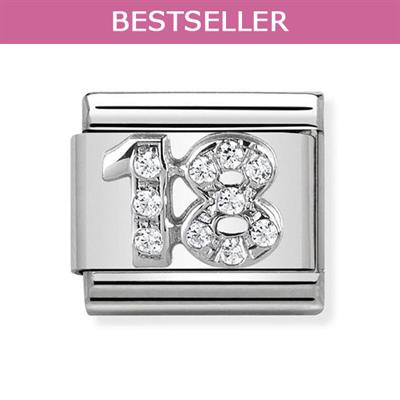 Buy Nomination Silver CZ 18
