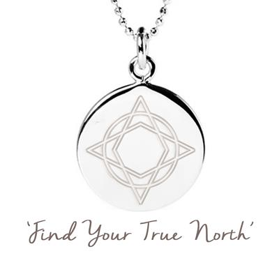 Buy Mantra Wanderlust True North Necklace in Silver