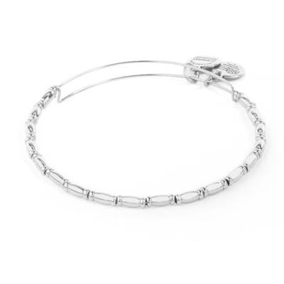 Buy Alex and Ani Reed Shiny Silver Bangle