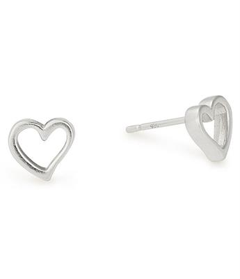 Buy Alex and Ani Open Heart Precious Studs in Silver