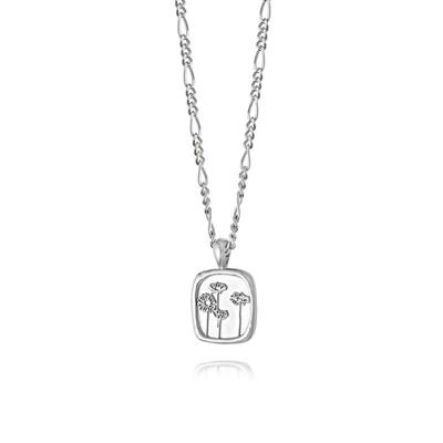 Buy Daisy Silver Wild Daisies Floriography Necklace