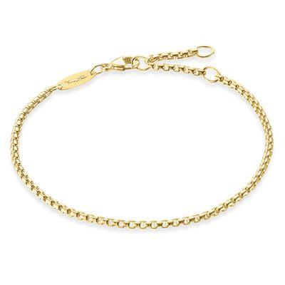 Buy Thomas Sabo Gold Chain Bracelet 19.5cm