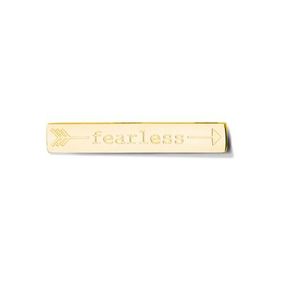 Buy Take What You Need Gold Toned Fearless Bar