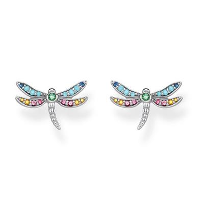 Buy Thomas Sabo Silver Dragonfly Stud Earrings