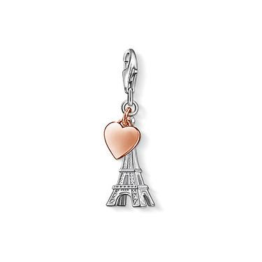 Buy Thomas Sabo Silver Heart of Paris Charm
