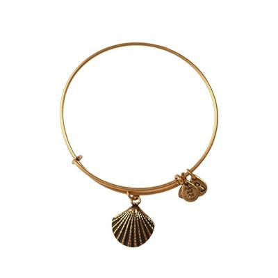 Buy Alex and Ani Sea Shell in Rafaelian Gold Finish