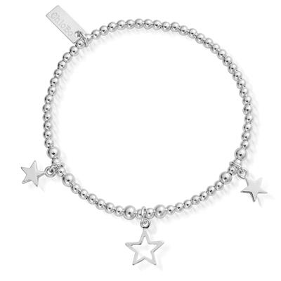 Buy ChloBo Triple Star Bracelet