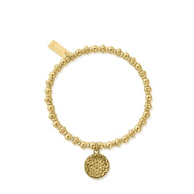 Buy ChloBo Gold Didi Sparkle Moonflower Bracelet