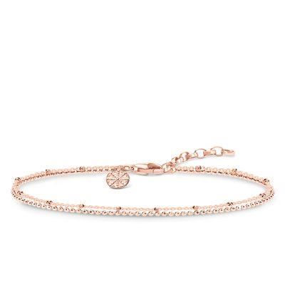 Buy Thomas Sabo Rose Gold Karma Double Bracelet 19cm