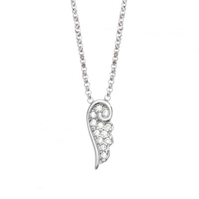 Buy Nomination Angel CZ Small Necklace Silver