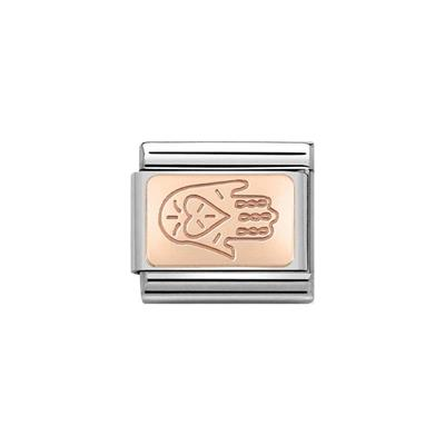 Buy Nomination Rose Gold Hand of Fatima Plate Charm