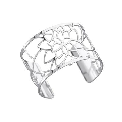 Buy Les Georgettes Wide Silver Nenuphar Cuff