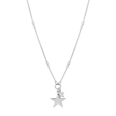 Buy Nomination Silver Double Star Necklace AW19
