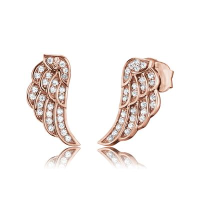 Buy Engelsrufer Rose Gold CZ Stud Earrings