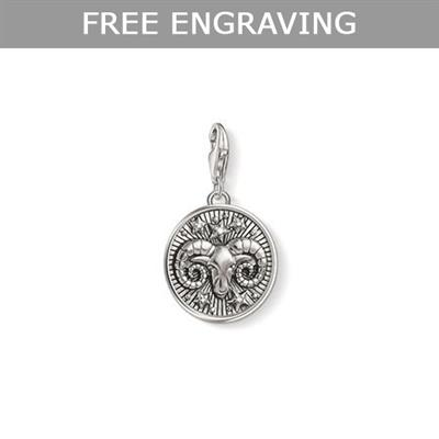 Buy Thomas Sabo Silver Aries Zodiac Charm