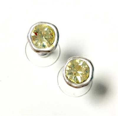 Buy Lizas Pale Green CZ Earring