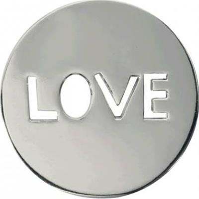 Buy Nikki Lissoni Silver Love It Is Coin 23mm