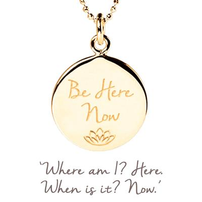 Buy Mantra Be Here Now in Gold