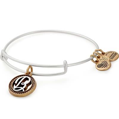 Buy Alex and Ani B Initial Two-Tone Bangle