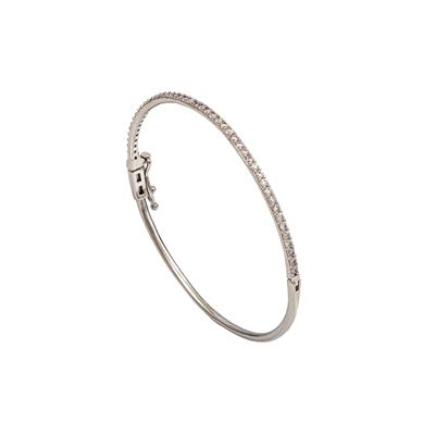 Buy Lily and Rose Silver Kennedy Bangle