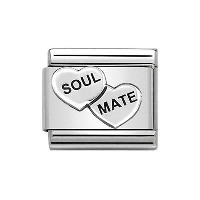 Buy Nomination Soulmate Double Heart Charm