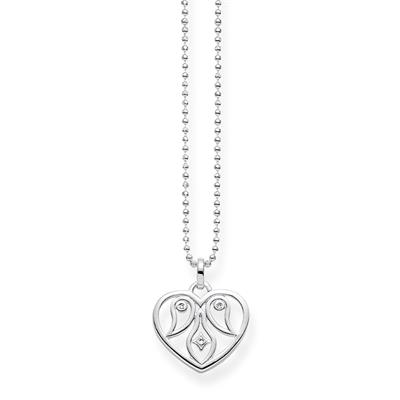 Buy Thomas Sabo Diamond Heart Necklace