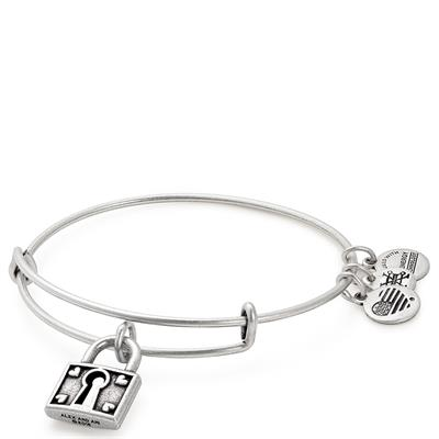 Buy Alex and Ani Unbreakable Love Bangle in Rafaelian Silver