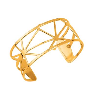 Buy Les Georgettes Medium Gold Solaire Cuff Bangle