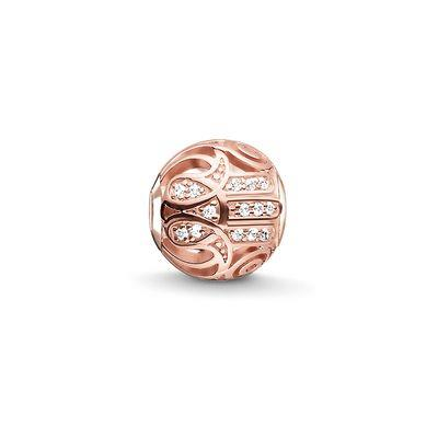 Buy Thomas Sabo Rose Gold Hand of Fatima Karma Bead