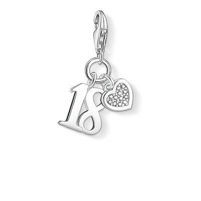 Buy Thomas Sabo Diamond 18th Birthday Charm