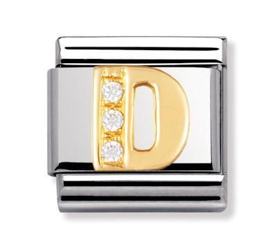Buy Nomination Gold & CZ Letter D