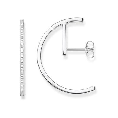 Buy Thomas Sabo CZ Semi-Circle Earrings