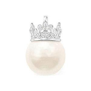 Buy Thomas Sabo Pearl Crown Pendant