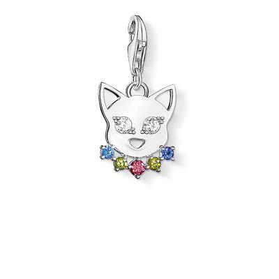 Buy Thomas Sabo Silver Kitty with Crystal Collar Charm