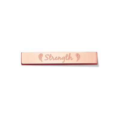 Buy Take What You Need Rose Gold Toned Strength Bar