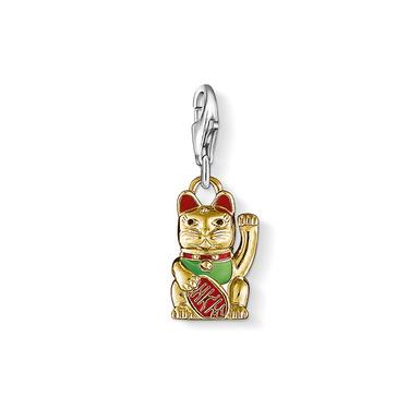 lucky cat charm thomas sabo charms sale thomas sabo outlet. Black Bedroom Furniture Sets. Home Design Ideas