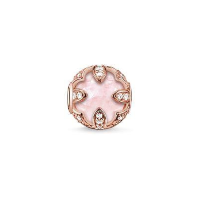 Buy Thomas Sabo Rose Gold Lotus Karma Bead