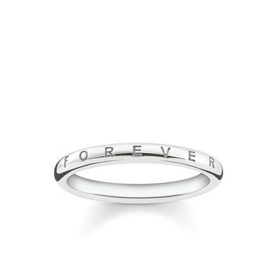Buy Thomas Sabo Silver Forever Together Ring 54