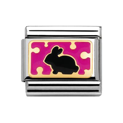 Buy Nomination Rabbit with Dots in Fuchsia