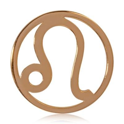 Buy Nikki Lissoni Leo Gold Medium Coin