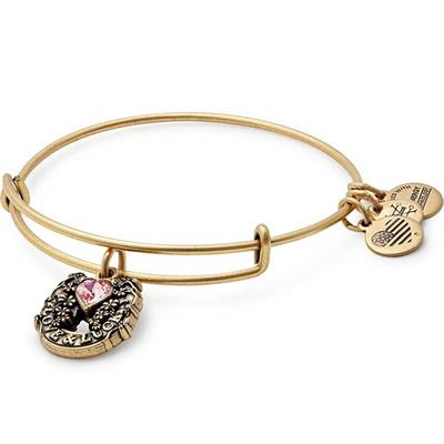 Buy Alex and Ani Fortune's Favor Bangle in Rafaelian Gold