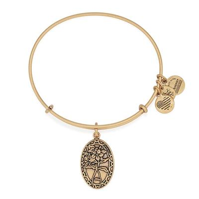 Buy Alex and Ani Because I Love You, Friend in Rafaelian Gold Finish