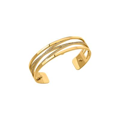 Buy Les Georgettes Slim Gold CZ Liens Cuff