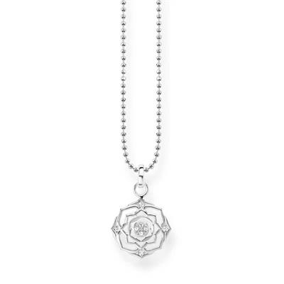 Buy Thomas Sabo Silver Crown Chakra Necklace with CZ
