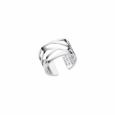 Buy Les Georgettes Silver Ruban Ring 58