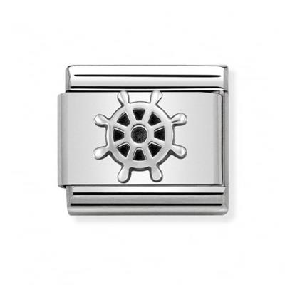 Buy Nomination Silver Boat Wheel Charm