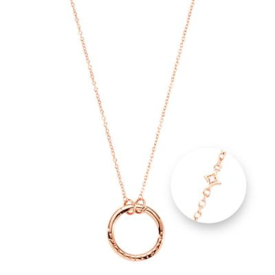 Buy Nikki Lissoni Rose Gold Starburst Amulet Necklace 80cm