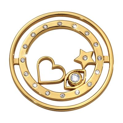 Buy Nikki Lissoni Gold Best Kept Secret Coin 33mm