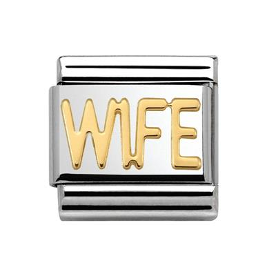 Buy Nomination WIFE Gold Charm