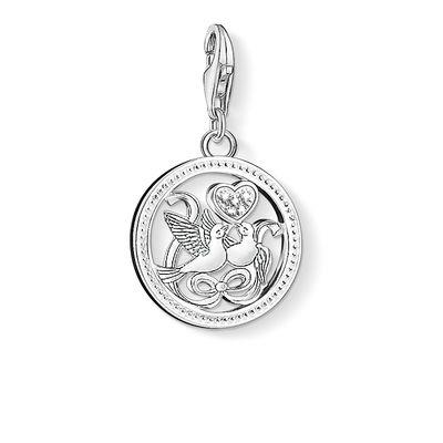 Buy Thomas Sabo Silver Wedding Doves Charm